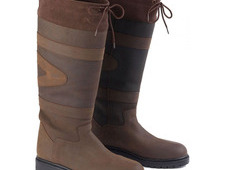 Toggi Quebec Leather Country Boots - £99. 99 + Free Delivery