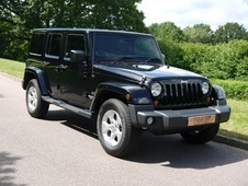 Jeep Wrangler 2. 8 Crd Overland 4 Door Automatic Unlimited, Conve...