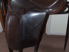 Ideal Jessica Dressage Saddle 17.5'' - West Sussex