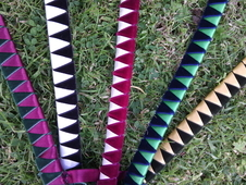 Can Post New Velvet/satin Show Browband Cob And Pony Sizes
