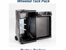 Ifor Williams Removable Tack Pack Box on Wheels Silver - Lancashire