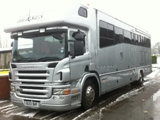 Horsebox, Carries 6 stalls 07 Reg with Living - Nottinghamshire