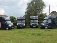 Travel in comfort, safety and style in one of our four horseboxes...