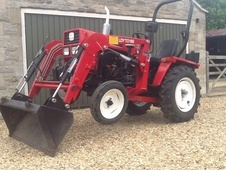 Compact Yard Tractor With Loader