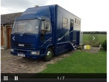 Ford Iveco 7. 5t non HGV, full living - SOLD