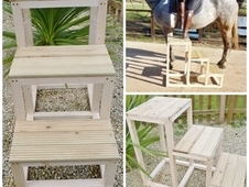 2 or 3 Step Wooden Mounting Block