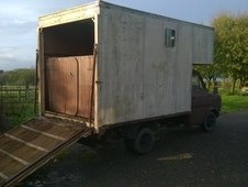 Reliable Ford 3. 5t Horsebox