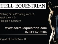 horse rug wash, re-proof & repair in cheshire, wirral, merseyside...