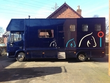 Ford Iveco 7. 5 ton tilt cab horsebox for sale