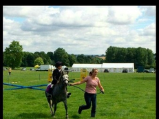 Perfect lead rein pony