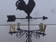Hand made weather vanes