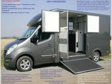 GEM HORSEBOX 3. 5 TONNE NEW BUILD
