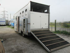 Stunning Ascot Supreme Horsebox On 1996 Iveco 75e15 Chassis With ...