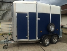 Ifor Williams 505 Trailer Blue