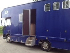 Horsebox, Carries 3 stalls V Reg with Living - Herefordshire