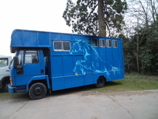 Ford Cargo, 3 Horse, 7. 5t