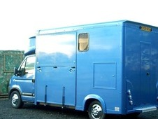 08 Vauxhall movano FSH Horsebox for sale.