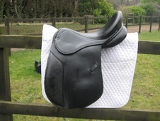 Silhouette VSD saddle, 17.5