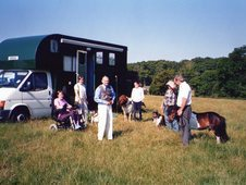 3. 5ton horsebox ideal lady's box with separate living