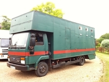 Horsebox For Large Horses 7. 5t