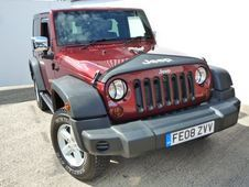 Jeep Wrangler 2. 8 Crd Sport 2dr Full Service History, Red, . . ....