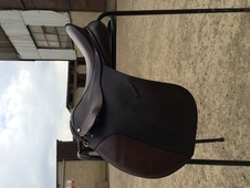 Brown english gp saddle