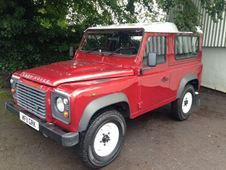 Land Rover Defender For Sale In Gloucestershire, Red, 2011((11)),...