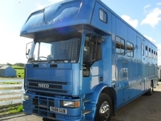 Iveco Hartford Royale horse box. Stalled for 5 1998