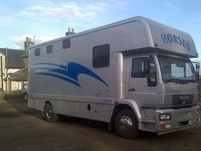 MAN 14 TON HGV 220 HP 4 horsebox with full living 2004