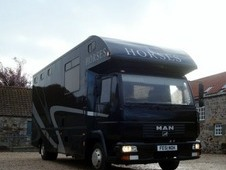 MAN Coach Built 7. 5t HorseBox Lorry - 3 large horses 2001