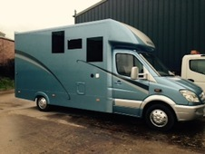 Automatic mercedes 3. 5 ton horsebox