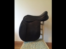 Black country working hunter saddle