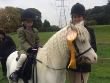 Mothers Dream Childs Pony Lead Rein First Ridden