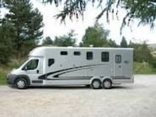 Horsetrailer,  with Living - Cheshire