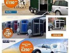 Fantastic rates on Ifor Williams long Term Hire From £31.25 per week