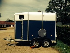 Blue 2006 Ifor Williams hb505 Hore Trailer In Good Condition