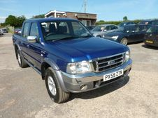 Ford Ranger Pick Up Xlt Thunder Double Cab Td 4wd . . . Honiton