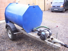 1000ltr Fast Tow Water Bowser