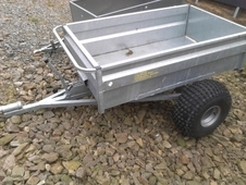 New trailer for quad. great for muck.