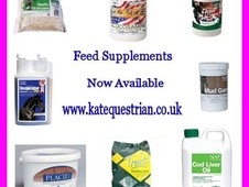 Feed Supplements Now Available - Kate's Equestrian Supplies - Lei...