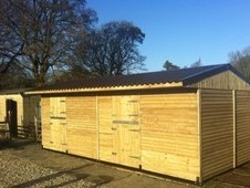 12x30ft 100%pressure Treated Double Stables & Tackroom