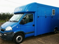 Recently Converted Vauxhall Movano 3. 5 Ton Horsebox