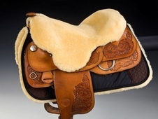 Sheepskin Seat Savers for Western saddles