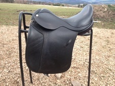 Barrie Swain semi flex saddle - Morayshire