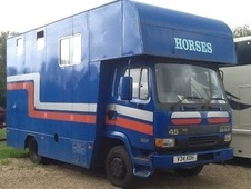Horsebox, Carries 2 stalls V Reg - Hertfordshire