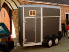 HB403 single stall Horsebox trailer