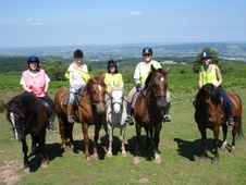 Ride on the beautiful Mendip HIlls, Somerset - Somerset