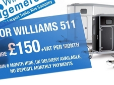 Ifor Williams 511 bala blue hire or buy