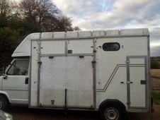 3. 5t Talbot Express horsebox for sale only done 15, 000 miles.