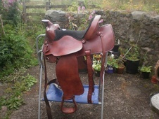 Maverick trial saddle - Powys